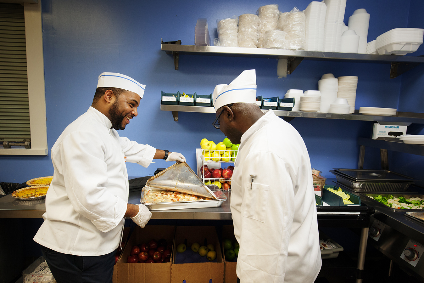 Vocational training include cooking, fitness and digital media